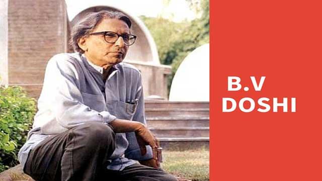 B.V. Doshi