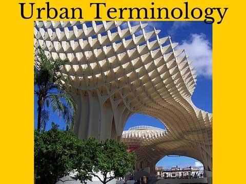 urban terminology