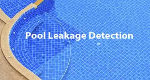 Swimming Pool leak detection service