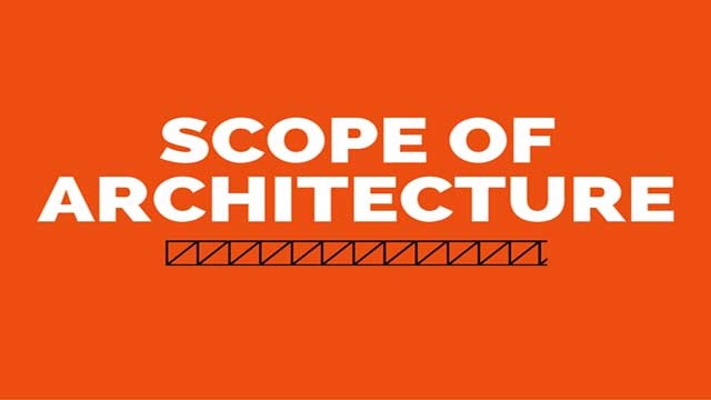 scope of architecture