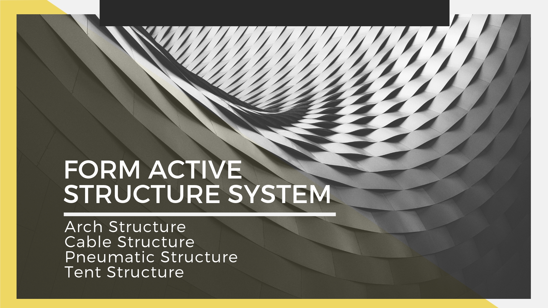 form active structure systems