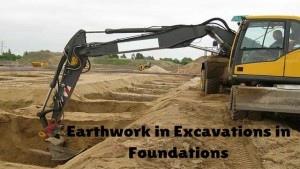 Earthwork in Excavation
