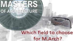 study of M.Arch