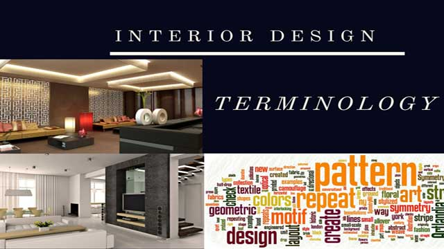 Interior Design Terminology