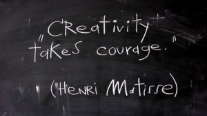 architecture as profession - creativity takes courage