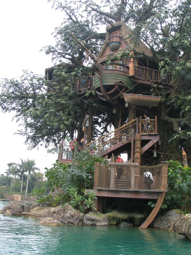 Intricate Tree House