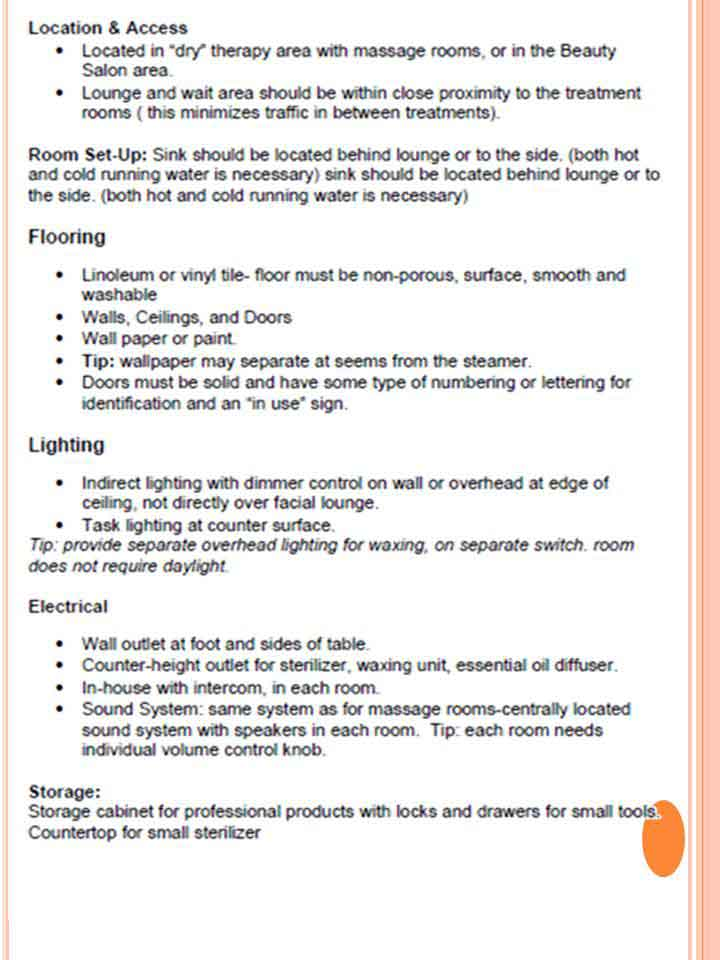 Library Study- Spa Design requirements -4