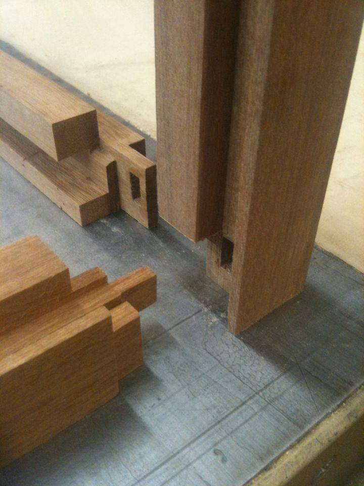 Wooden Joinery details