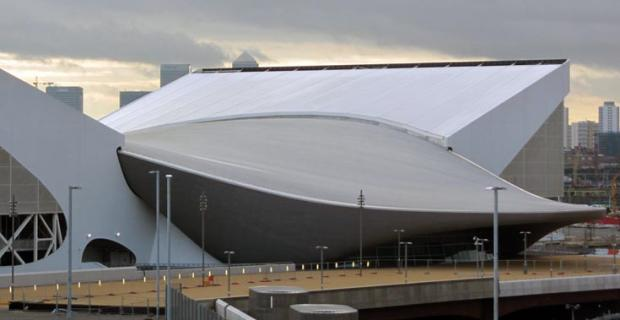 Aquatic Center for the London 2012 Olympics
