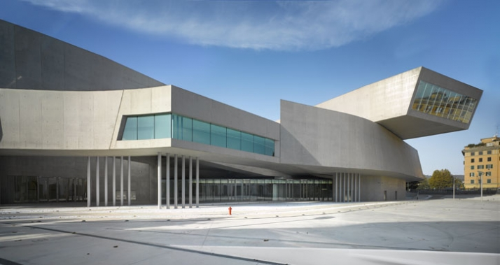 MAXXI national museum of arts Rome