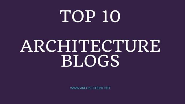 list of architecture blogs