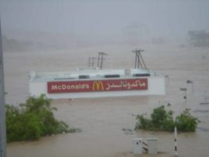 Pluvial flooding