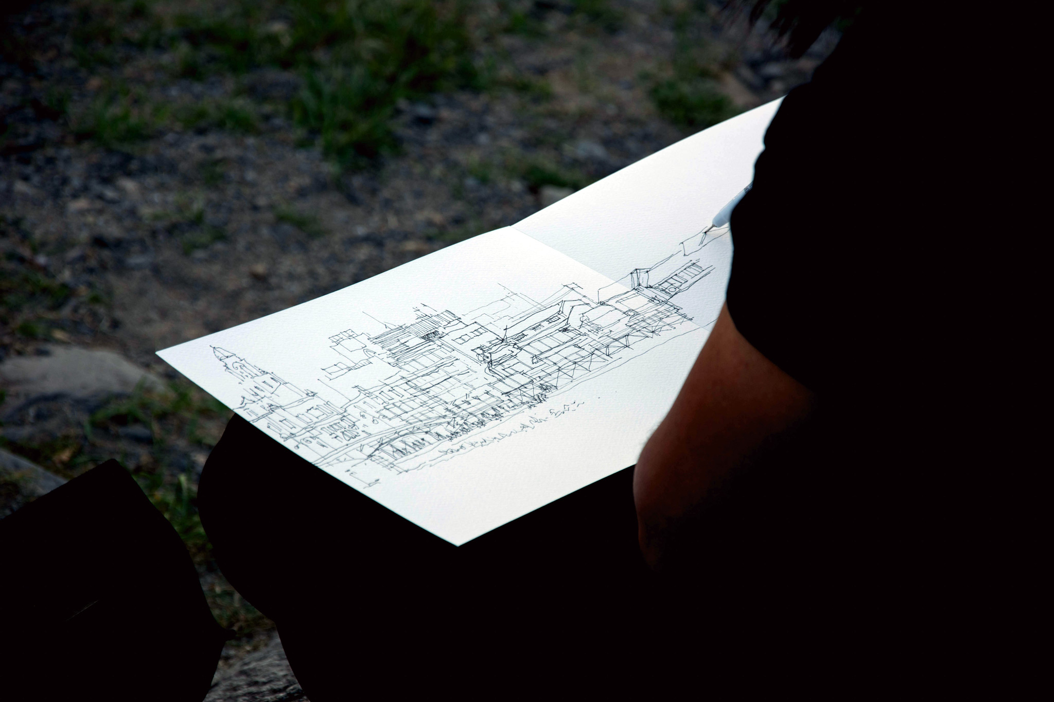 Architecture is a journey to discover yourself archistudent its architecture design through sketch solutioingenieria Gallery
