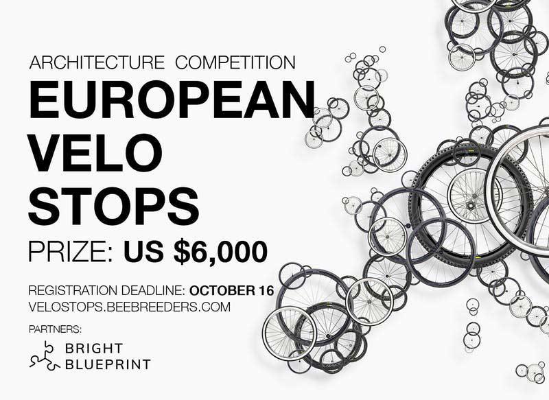 European Velostops architecture competition