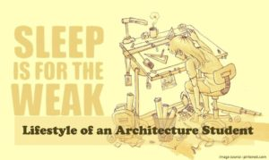 Life of an Architect Student|Lifestyle-of-an-architecture-student-sleeping