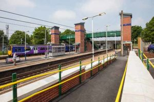 Leyland station, Lancs