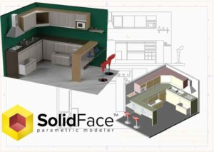 SolidFace 3d modeling software solution-parametric modeling