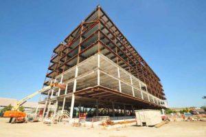 steel frame cleveland building