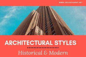 architectural styles - historical and modern