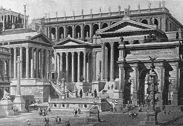 Roman Architecture style