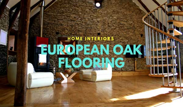 European Oak Flooring for Home Interiors