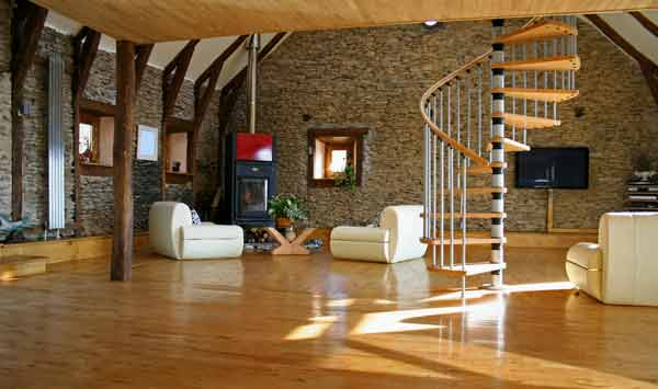 Light European Oak Flooring