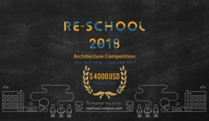 Re School 2018 Architecture Competition by Volume Zero