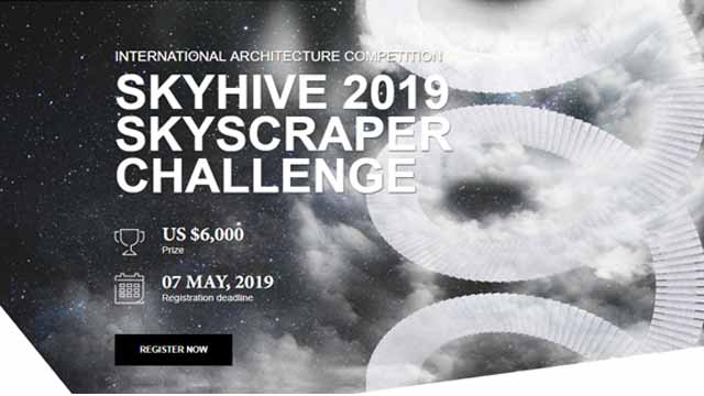 Skyhive 2019 Skyscraper Challenge International Architecture Competition