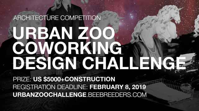 urban zoo coworking design challenge architecture Competition
