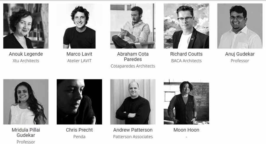 Aquatecture 2018 Architecture Competition jury