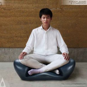 Meditation Seat Ware Seat Ware by Gao Fenglin from China