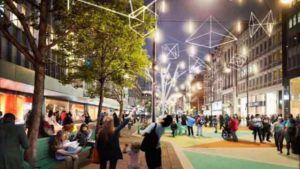 Pedestrianization: An efficient way to improve environmental conditions with increased economic and social benefits
