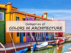 category of colors in architecture and design
