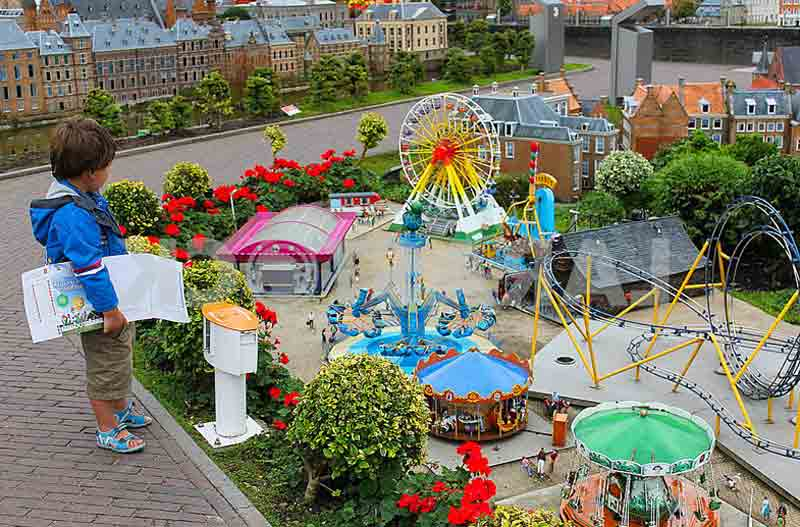 Madurodam miniature park - miniature scale of holland